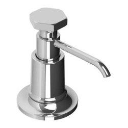 Lefroy_Brooks - Lefroy Brooks - Mackintosh Deck Soap Dispenser - M1-5450-CP - Polished Chrome Finish