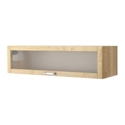 Mikael Warnhammar - VÄRDE Glass-door wall cabinet - Glass-door wall cabinet, birch