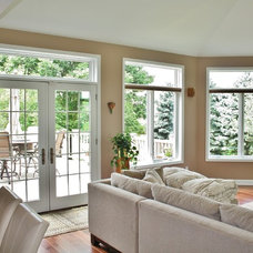 Traditional Sunroom by Dexter Builders