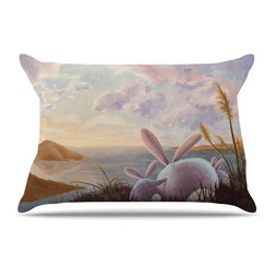 """Kess InHouse - Rachel Kokko """"A New Perspective"""" Pillow Case, King (36"""" x 20"""") - This pillowcase, is just as bunny soft as the Kess InHouse duvet. It's made of microfiber velvety fleece. This machine washable fleece pillow case is the perfect accent to any duvet. Be your Bed's Curator."""