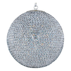 Maxim Lighting - Maxim 39887Bcps 12 Light 1 Tier Chandelier - Plated Silver - Glittering with the light of a thousand faceted crystals, this 12 Light 1 Tier Chandelier will bring a galaxy of light to any room.