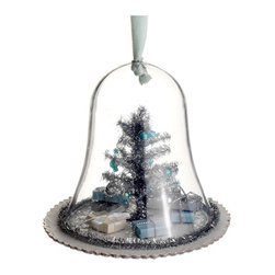 Silk Plants Direct - Silk Plants Direct Christmas Tree in Glass Dome Ornament (Pack of 6) - Pack of 6. Silk Plants Direct specializes in manufacturing, design and supply of the most life-like, premium quality artificial plants, trees, flowers, arrangements, topiaries and containers for home, office and commercial use. Our Christmas Tree in Glass Dome Ornament includes the following:
