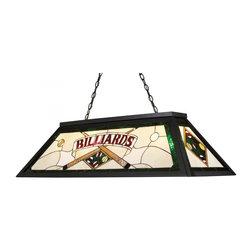 ELK Lighting - Four Light Tiffany Bronze Pool Table Light - Four Light Tiffany Bronze Pool Table Light