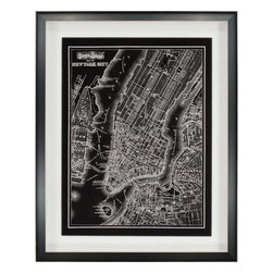 Paragon - New York City, 1895 - Framed Art - Each product is custom made upon order so there might be small variations from the picture displayed. No two pieces are exactly alike.