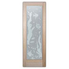 Beach Style Interior Doors by Sans Soucie Art Glass