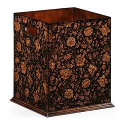 Jonathan Charles - New Jonathan Charles Wastepaper Basket Black - Product Details