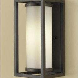 Murray Feiss Industrial Moderne OLPL700 Wall Lantern - Oil Rubbed Bronze - About Murray Feiss LightingThree generations have built Murray Feiss as a renowned name in lighting, and it now stands as a leader with a reputation for impeccable craftsmanship, innovative design, and honest value. Murray Feiss prides itself as the foremost designer and manufacturer of interior and exterior lighting and home décor in the lighting industry. Over 3,800 skilled artists and technicians bring Murray Feiss designs to life, meticulously finishing and quality testing each exclusive product. Murray Feiss Lighting has expanded its extensive, copyrighted line of products to include grand chandeliers, casual fixtures, vanity bath lights with coordinated bath hardware, outdoor lighting, lamps, torchieres, wall brackets, mirrors and decorative accessories. Whether outdoor or in, lighting from Murray Feiss means high quality and innovation.