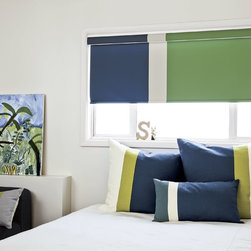 Smith and Noble Clasic Roller Shades - Whether you're seeking the drama and fashion appeal of fine fabric, or the rich texture of woven wood blinds, you'll find a budget-wise, easy-care solution in smith+noble Roller Shades. Starting $87+