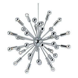 AF Lighting - Af Lighting 5694-20H Elements Supernova Chandelier - AF Lighting 5694-20H Elements Supernova Chandelier