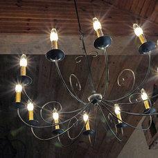 Rustic Chandeliers by Copper Lantern Lighting