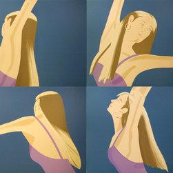 Alex Katz, Night: William Dunas Dance Suite, Four Lithographs - Artist:  Alex Katz, American (1927 - )