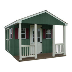Fifthroom - Cabin Shed with Dura-Temp Siding -