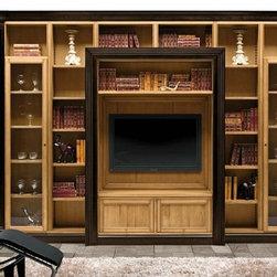 Overview - Classic Italian bookcase.