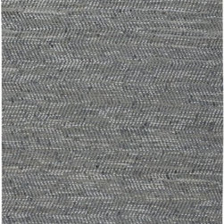 Uttermost - Uttermost Branson Transitional Rug X-2-83017 - Hand woven rescued blue denim and light gray leather. This rug is not recommended for high traffic areas.