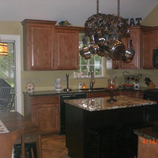 Traditional Kitchen Cabinets by Caruso's Cabinets