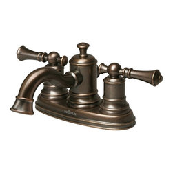 Pegasus - Pegasus 67114-8096H Estates Two Handle Centerset Bathroom Sink Faucet in Heritag - Pegasus 67114-8096H Estates Two Handle Centerset Bathroom Sink Faucet in Heritage Bronze Estates is fashionable and flexible and is inspired by time-honored country traditions - fabrics and flowers that change with the season. Traditional at heart this Centerset Bathroom Faucet is the right accent for today's homes.Pegasus 67114-8096H Estates Two Handle Centerset Bathroom Sink Faucet in Heritage Bronze , Features:bull; Spout height:  1.69""