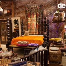 Eclectic Bedroom by De-cor