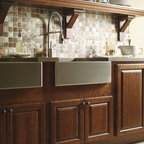 Schrock Country Sink Base Cabinet - Accommodating most country sinks on the market, Schrock's country sink base cabinet is the perfect solution for obtaining this popular look.