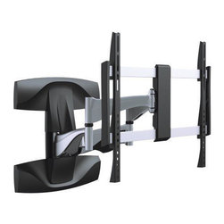 Mount-it! - Mount-It Solid Aluminum Premium Quality Swivel Wall Mount - Now you can conveniently mount your TV to the wall with the Mount-It Solid Aluminum Premium Quality Swivel Wall Mount. This wall mount will accommodate for most 37 to 70-inch LED flat panel TVs.