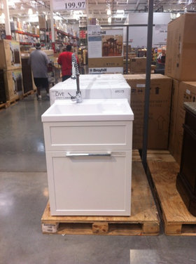 Costco Laundry Sink : Costco Laundry Utility Sink Cabinet