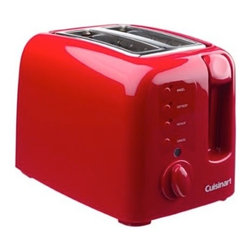 Cuisinart Electronic Cool Touch 2-Slice Toaster, Red - I'm in the market for a new toaster, and this Cool Touch one with nine browning levels seems like just what I need. Plus, it's bright red!
