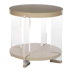 Vanguard Furniture - Vanguard Furniture Dell Rey Lamp Table P402L-YF - Vanguard Furniture Dell Rey Lamp Table P402L-YF