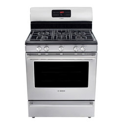 "Bosch Evolution Dlx 30"" Gas Freestanding Range, Stainless Steel 