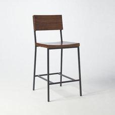 Rustic Bar Stool + Counter Stool | west elm