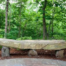 Traditional Outdoor Benches by Rock Spring Design Group LLC (David Verespy, ASLA)