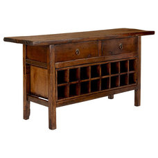 Asian Wine And Bar Cabinets by Wisteria