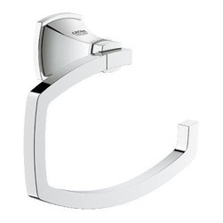 Grohe - Grohe Grandera Single Post Toilet Paper Holder (40625000) - Grohe 40625000 Grandera Single Post Toilet Paper Holder, Grohe Starlight Chrome