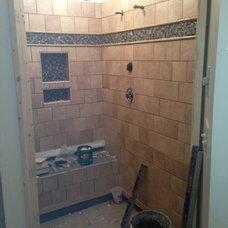 Traditional Showers by Carolina Cabinets Inc.
