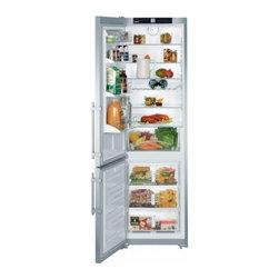 "Liebherr - CS-1311  24"" 13 Cu. Ft. Freestanding Bottom-Mount Counter-Depth Refrigerator  In - 13 cu ft Counter-Depth Bottom-Freezer Refrigerator with 4 Glass Shelves 3 Freezer Drawers LED Lighting and Digital Temperature Display"
