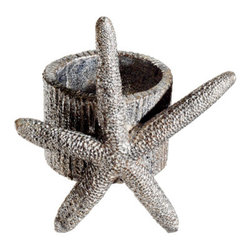 Silk Plants Direct - Silk Plants Direct Star Fish Napkin Ring (Pack of 12) - Silk Plants Direct specializes in manufacturing, design and supply of the most life-like, premium quality artificial plants, trees, flowers, arrangements, topiaries and containers for home, office and commercial use. Our Star Fish Napkin Ring includes the following: