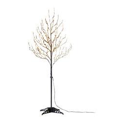 Lightshare - Lightshare 6Ft 208 LED Frosted Ball Tree, 20 LED C7 Light - Description: