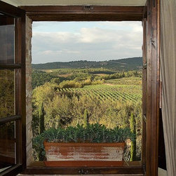 Magic Murals - Tuscan Vineyards Wallpaper Wall Mural - Self-Adhesive - Multiple Sizes - Magic M - Tuscan Vineyards Wall Mural