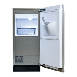 """Subzero 15"""" Built-in Ice Machine - For the home that has everything, a high capacity ice maker will ensure you never run out of ice for those cocktail parties round the pool."""