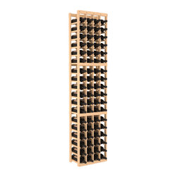 Wine Racks America - 4 Column Standard Wine Cellar Kit in Pine, (Unstained) Pine - Continue building your fine wine collection with this easy-to-assemble storage cellar. It's made of pine, available in your choice of colors and finishes, and its compact vertical design saves space. Put it together and expand as needed thanks to modular design. Cheers!