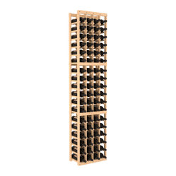 Four-Column Standard Wine Cellar Kit in Pine