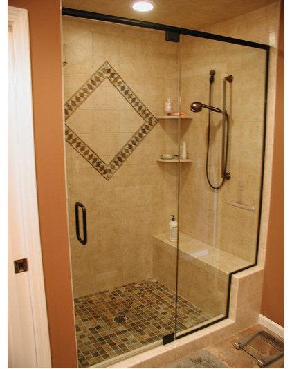 Modern Bathroom by Paulson's Construction, Inc