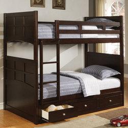 Coaster - Jasper Bunk Bed With Underbed Storage - Jasper Bunk Bed With Underbed Storage