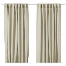 traditional curtains by IKEA