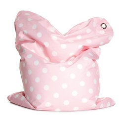 THE BULL Mini Fashion Bean Bag Chair - Bebe Pink