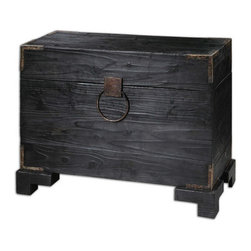 Uttermost - Uttermost Carino Wooden Trunk Table - 24305 - Uttermost Carino Wooden Trunk Table - 24305