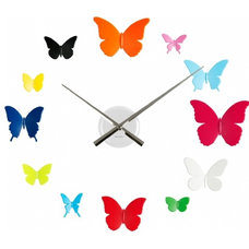 Eclectic Wall Clocks by Dutch by Design