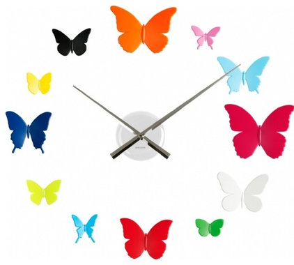 eclectic clocks by Dutch by Design