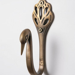 Cygnus Hook - This is a unique, beautiful hook. Have I mentioned how much I love the hooks at Anthropologie?