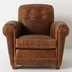Jack Club Chair - I love having a comfy reading/rocking chair in the bedroom, and this club chair would be my dream. I envision many late nights reading in this with a quilt draped over my legs.