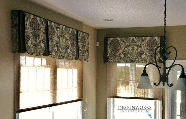 Contemporary Curtains by Designworks Interiors, LLC