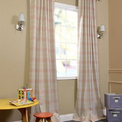 Peaches N' Cream Blackout Curtain - You will instantly fall in love with our blackout curtains & drapes. The fabric is super soft with a refined texture made with a special polyester yarn. These curtains keep the light out and provides optimal thermal insulation.